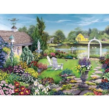 By the Pond - 1,000 Piece Puzzle