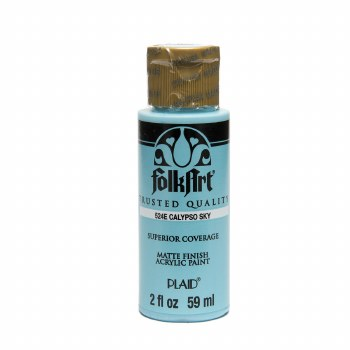 FolkArt 2 Oz. Acrylic Paint- Calypso Sky