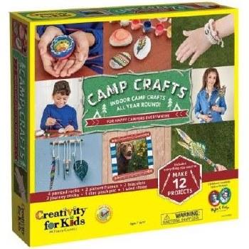 Creativity for Kids Craft Kit- Camp Crafts