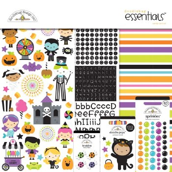 Candy Carnival 12x12 Essentials Kit