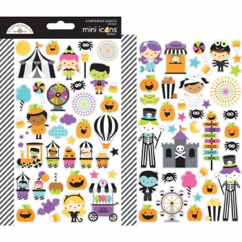Candy Carnival Stickers- Mini Icons