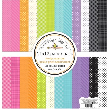 Candy Carnival 12x12 Paper Pack- Petite Prints