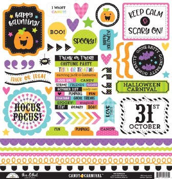 Candy Carnival Stickers- This & That