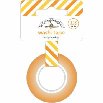 Candy Carnival Washi Tape- Candy Corn Stirpe