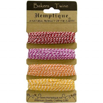 Hemptique Bakers Twine- Candy Lane