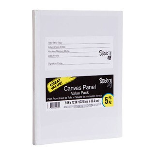 "Canvas Panel Value Pack, 5ct- 9""x12"""