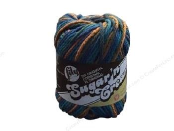 Sugar 'n Cream Yarn, Ombre- Capri #2747