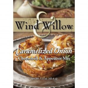 Wind & Willow Cheeseball & Appetizer Mix- Caramelized Onion