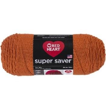 Red Heart Super Saver Yarn- Carrot