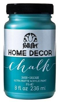 FolkArt Home Decor Chalk Paint 8 oz- Cascade