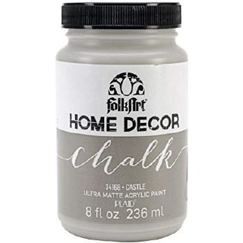 FolkArt Home Decor Chalk Paint 8 oz- Castle