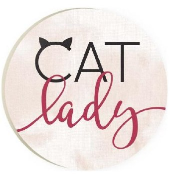 Car Coaster- Cat Lady