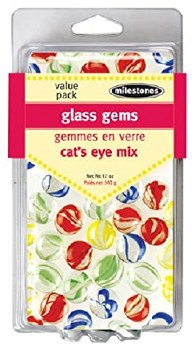 Stepping Stones Accessories- Cat's Eye Glass Gems