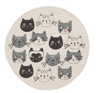Braided Trivet- Cats Meow