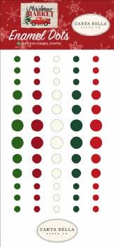 Christmas Market Enamel Dots