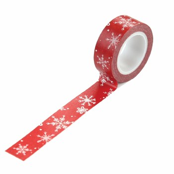 Christmas Market Washi Tape- Snow Flurries