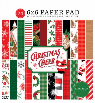 Christmas Cheer 6x6 Paper Pad