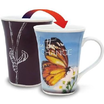 Color Changing Story Mug- Butterfly