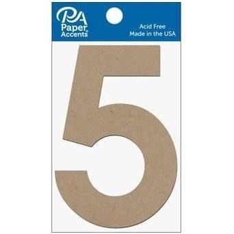 """4"""" Chibpoard Number, 2pk- 5"""