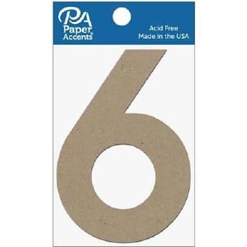 """4"""" Chibpoard Number, 2pk- 6"""