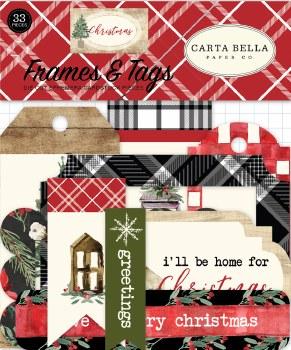 Christmas Ephemera Die Cuts- Frames & Tags