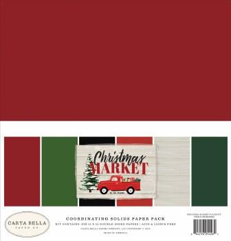 Christmas Market Solids Paper Kit
