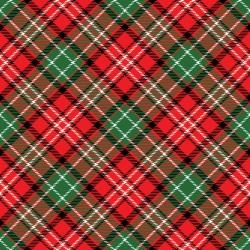 Reminisce Plaid 12x12 Paper- Christmas Tartan