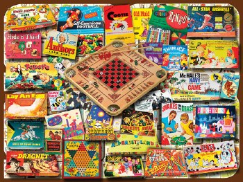 Classic Games - 550 Piece Puzzle