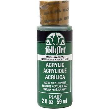 FolkArt 2 Oz. Acrylic Paint- Classic Green