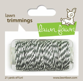 Lawn Fawn Trimmings Cord- Cloudy