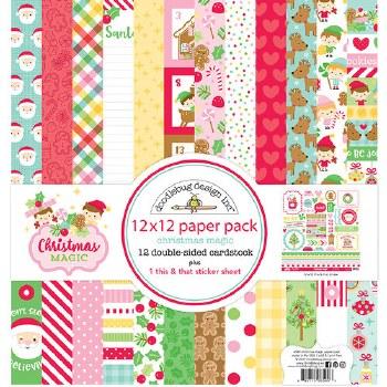 Christmas Magic 12x12 Paper Pack