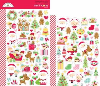 Christmas Magic Stickers- Mini Icons