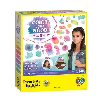 Creativity for Kids Craft Kit- Color Your Mood Crystal Jewels