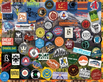 Craft Beer, Colorado- 1000 piece puzzle