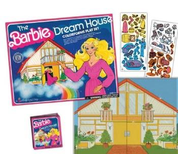 Colorforms- Barbie's Dream House