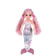 Beanie Flippable Sequin Collection, Medium- Mermaid, Cora