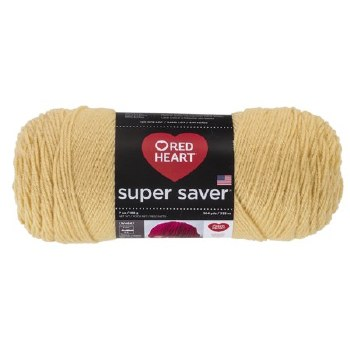 Red Heart Super Saver Yarn- Cornmeal