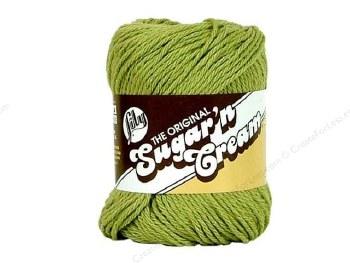 Sugar 'n Cream Yarn- #1222 Country Green