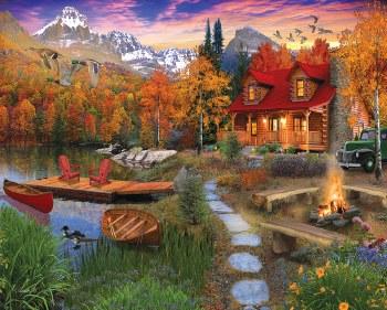 Cozy Cabin - 1,000 Piece Puzzle