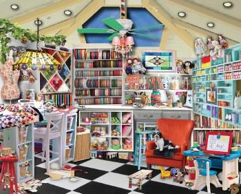 Craft Room - 1,000 Piece Puzzle