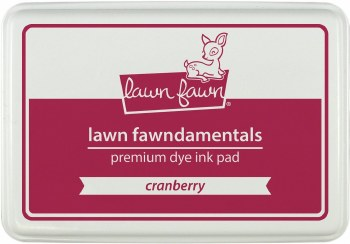 Lawn Fawn Premium Dye Ink- Cranberry
