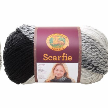 Scarfie Yarn- Cream/Black