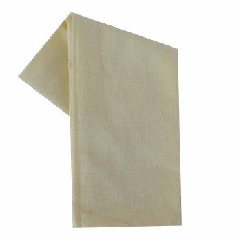 "Solid Weave 20""x28"" Tea Towel- Cream"