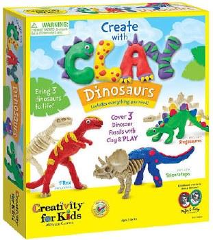 Creativity for Kids Craft Kit- Clay Dinosaurs