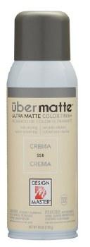 Design Master Ubermatte Spray Paint- Crema