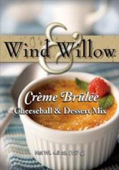 Wind & Willow Cheeseball & Dessert Mix- Creme Brulee