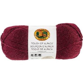 Touch of Alpaca Yarn- Crimson