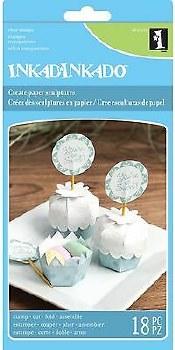 Inkadinkado Clear Stamp Set- Cupcakes