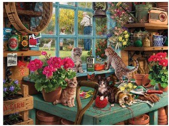 Curious Kittens - 1,000 Piece Puzzle