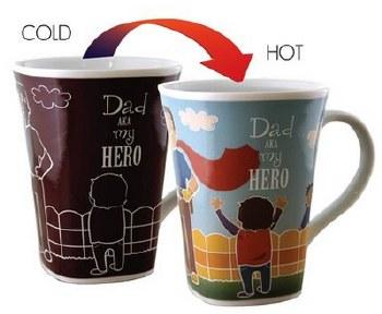 Color Changing Story Mug- Dad